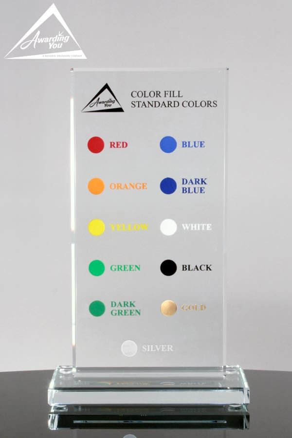 Awarding You Standard Fill Colors