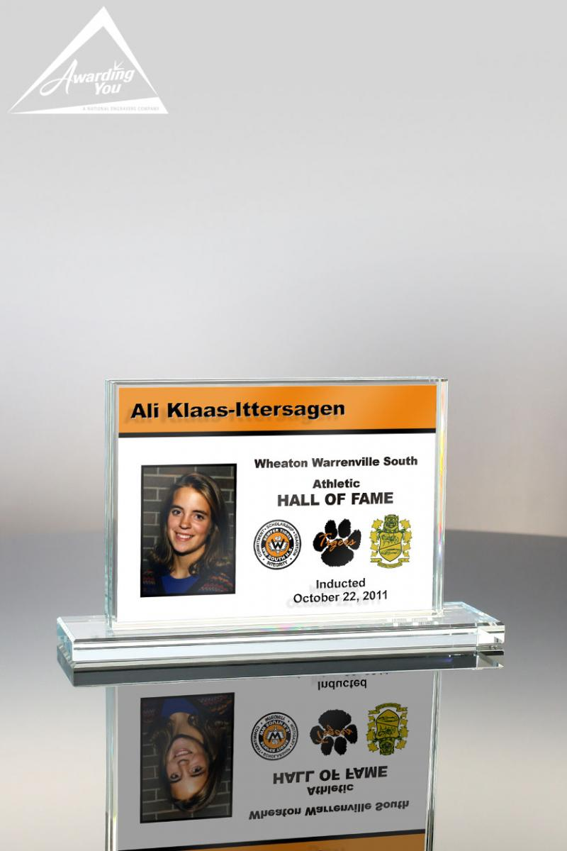 Add color to your engraved safety awards