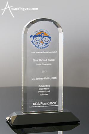 Color Logo on Award