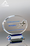 Custom Crystal Award by Awarding You Small