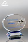 Custom Crystal Award by Awarding You Small