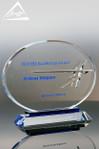 Custom Crystal Award by Awarding You Large