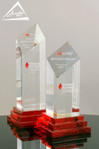 Custom Crystal Award by Awarding You