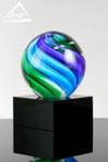 Bali Art Glass Award 1147 Quarter Turn View