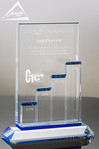 Breakthrough Crystal Award Front View