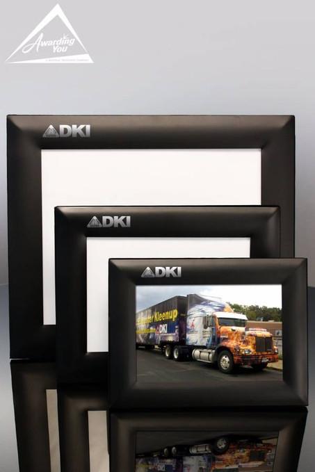 Black Satin Metal Frames