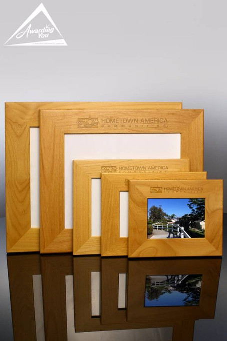 Red Alder Picture Frame Family View