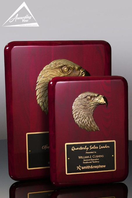 Force Eagle Patriotic Award Plaque Family View