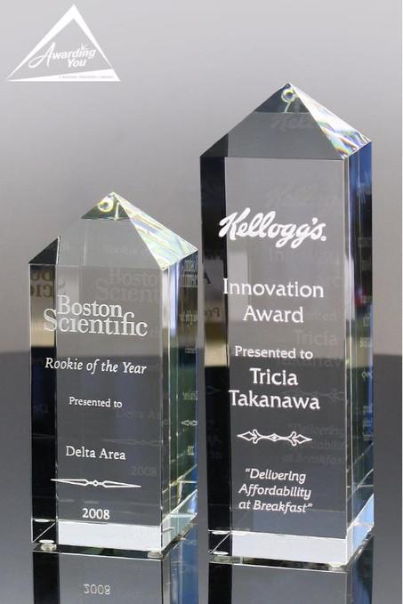 Opus Sales Optical Crystal Awards