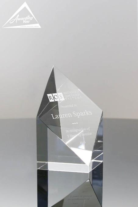 Grandeur Crystal Award 5704