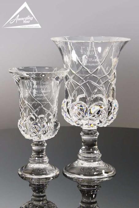 Aria Italian Crystal Vases