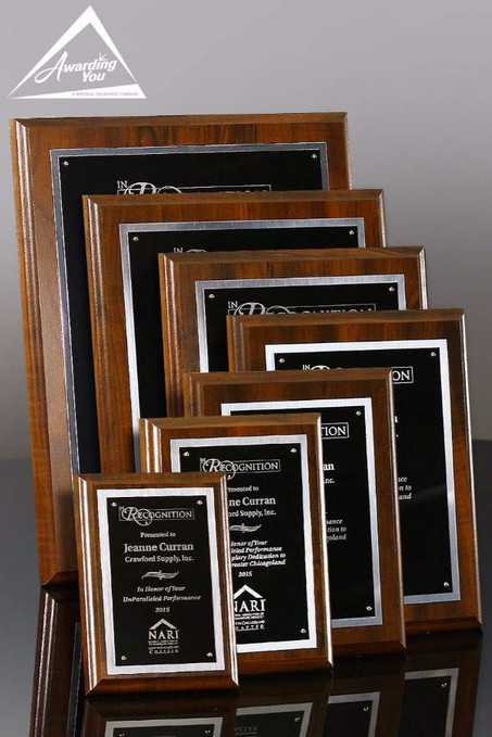 Grant Economy Corporate Award Plaque Family View