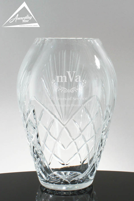 Colleen Recognition Trophy Vase 4542