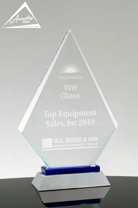 Simon Glass Diamond Award - front view