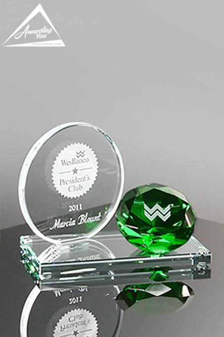 G12. Custom Glass Award