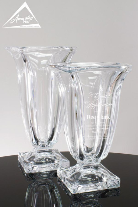 Cambridge Glass Vase Award