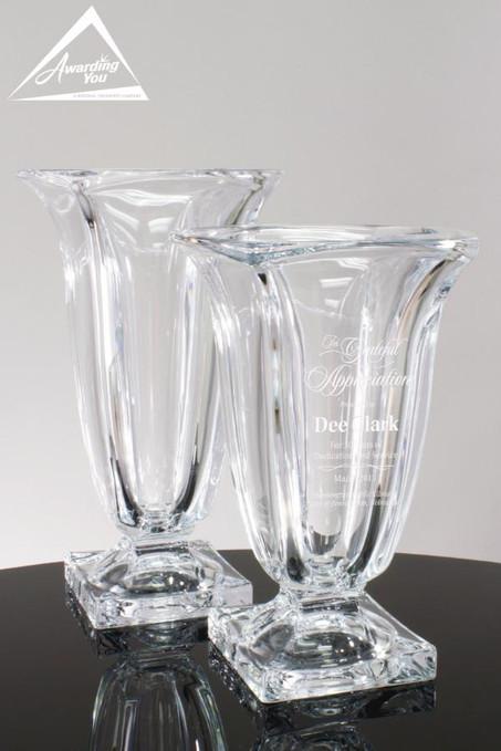 Cambridge Glass Vase Award