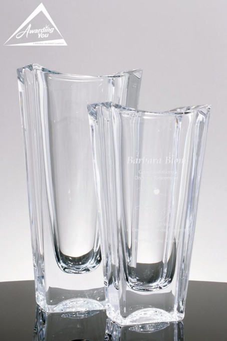 Nottingham Case Glass Vases
