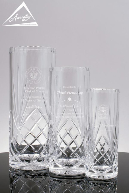Winchester Crystal Vases