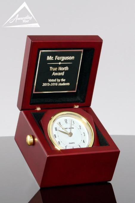 Explorer Handheld Award Clock