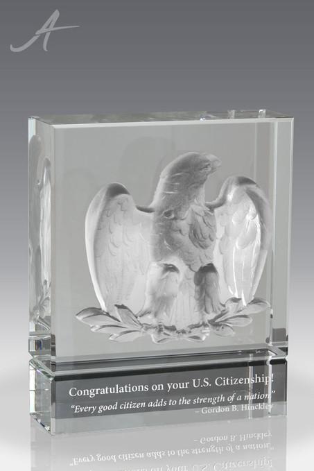 Eagle of Courage Crystal Award