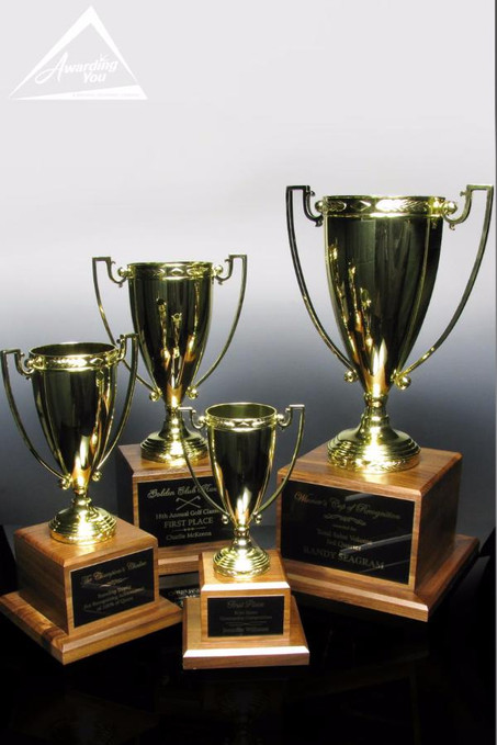 Harvard Gold Sales Trophies