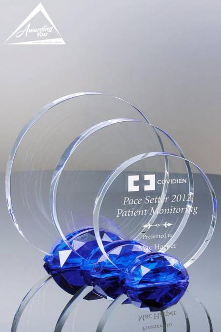 Galaxy Cobalt Crystal Awards