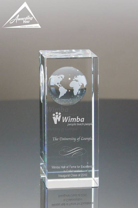 Global Ascend Award Front View