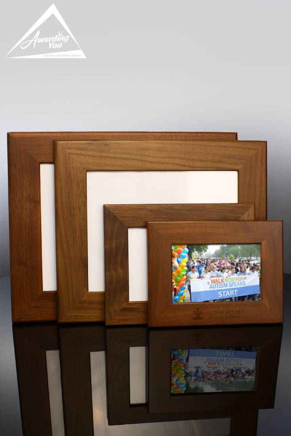 Genuine Walnut Picture Frame Family View
