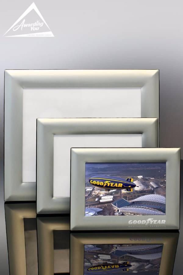 Silver Satin Aluminum Frames