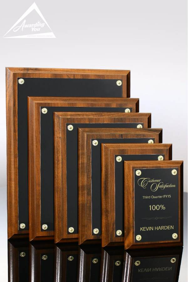 Jackson Award Plaque Family View