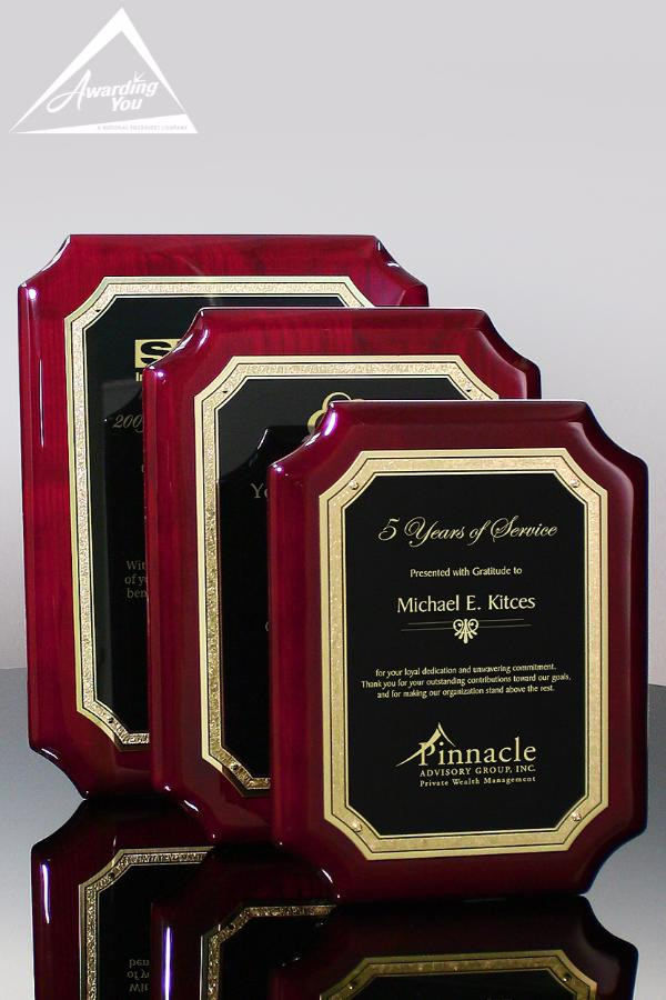 Sisso Rosewood Award Plaques