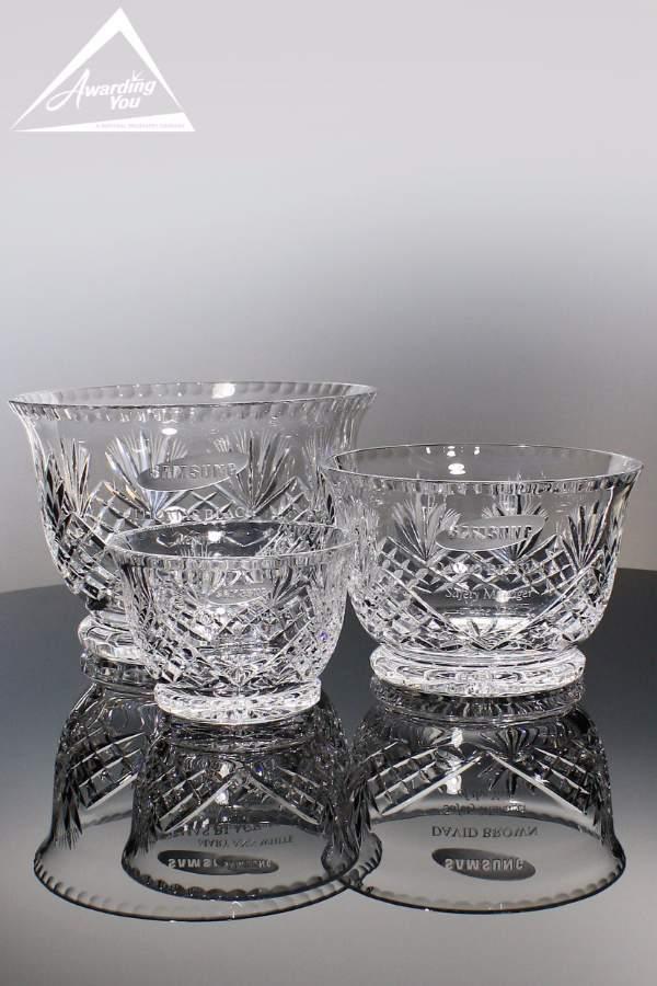 Victoria Crystal Bowls
