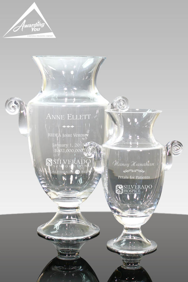 Brentford Trophy Vases