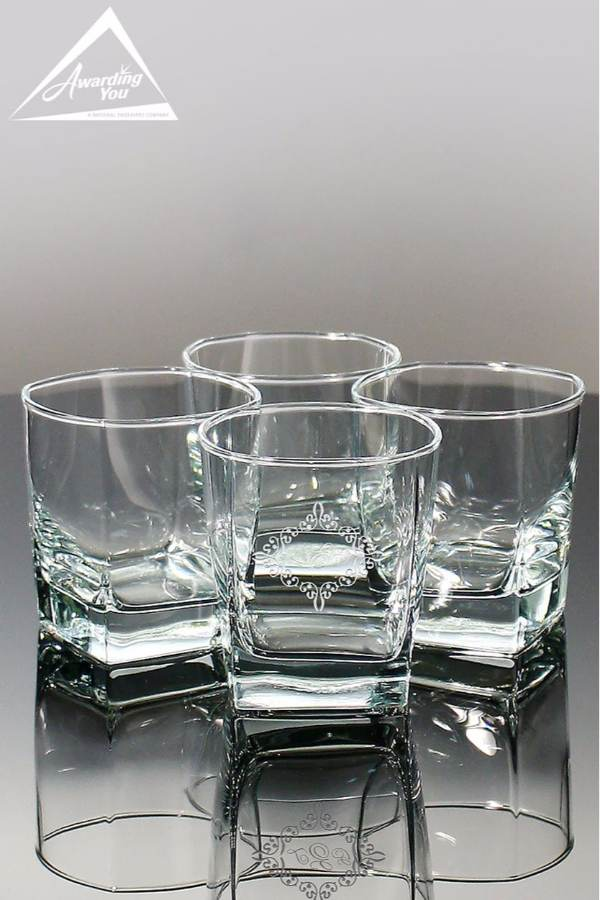 Bari On the Rocks Glass Sold in Sets of 4