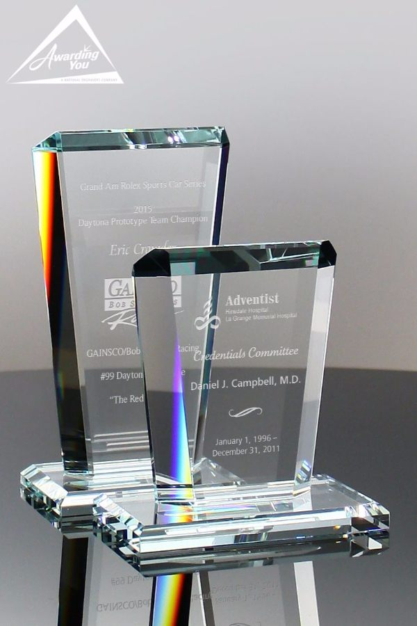 Altitude Clear Glass Award Small Family View