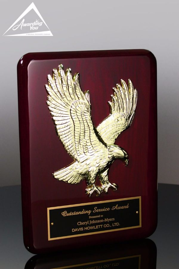 Champion Eagle Service Plaque