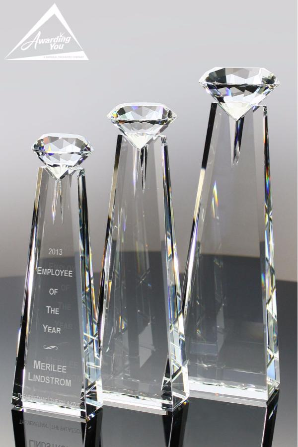 Noble Diamond Optic Crystal Awards