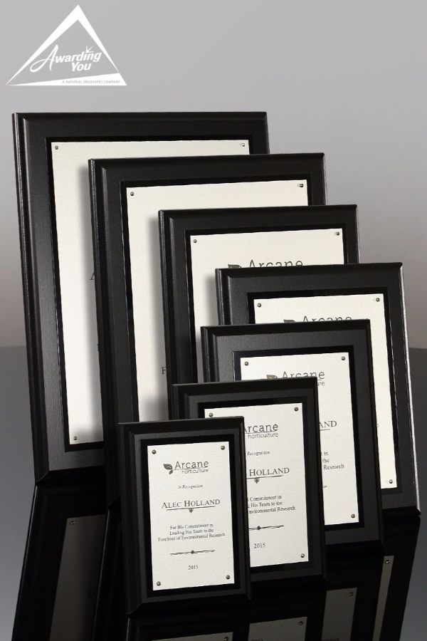 James Recognition Plaques