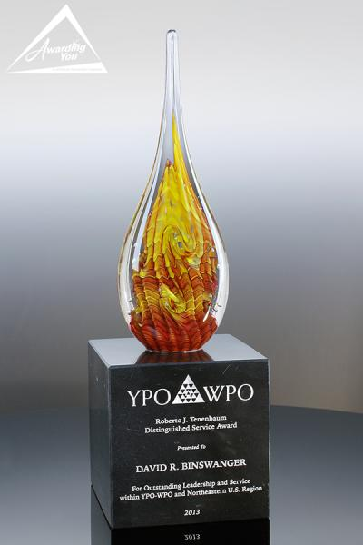 Custom Art Glass Award (A1)