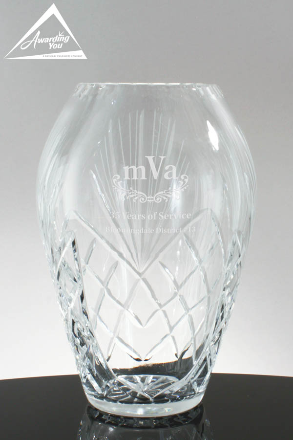Colleen Recognition Trophy Vase 4542