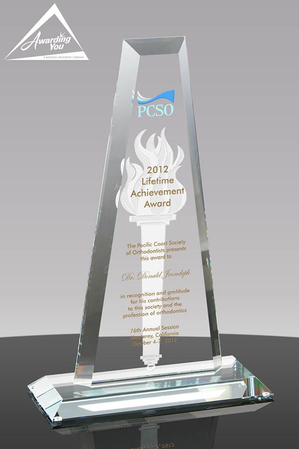 G02. Custom Glass Award