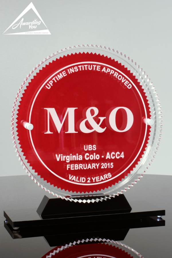 Custom Acrylic Award by Awarding You