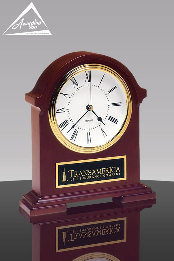 Cogsworth Mahogany Clock Award