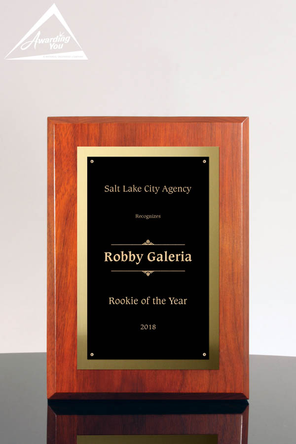 Lucas Cherry Award Plaque