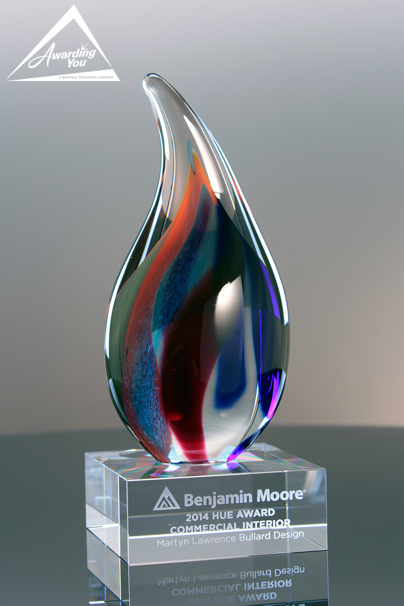 Custom Art Glass by Awarding You