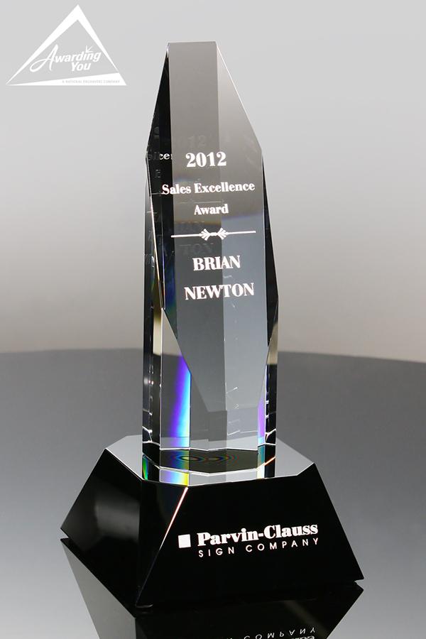 C24. Custom Crystal Awards