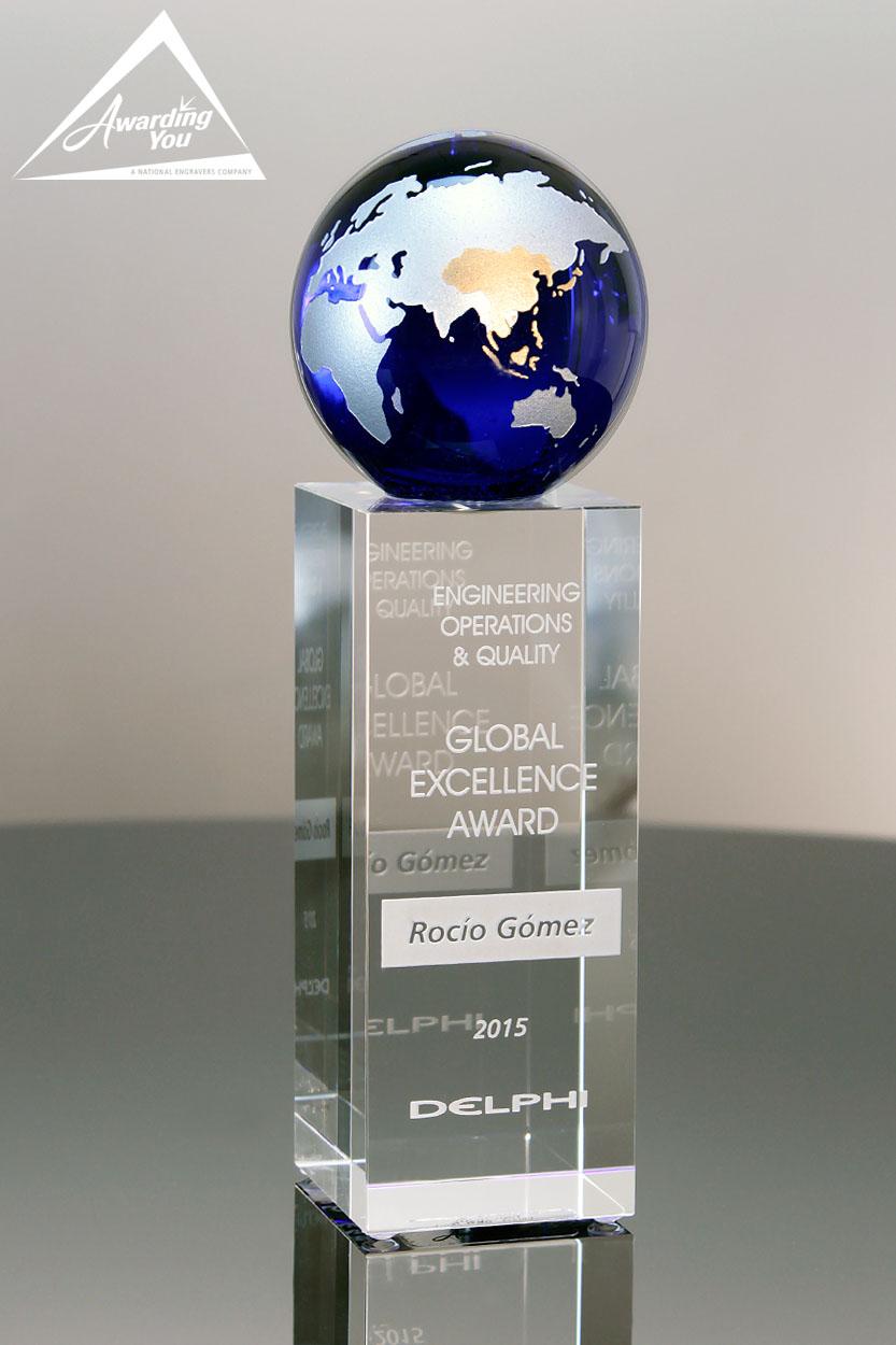 C45. Custom Crystal Awards