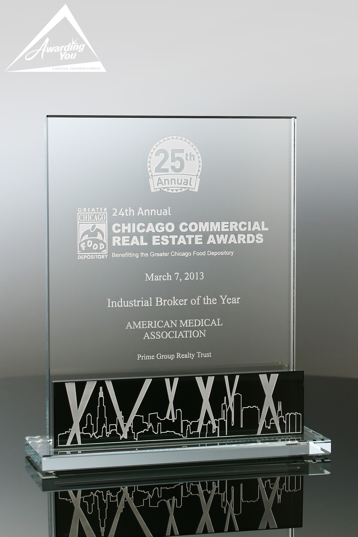 G13. Custom Glass Award