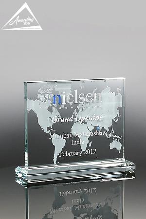 G21. Custom Glass Award